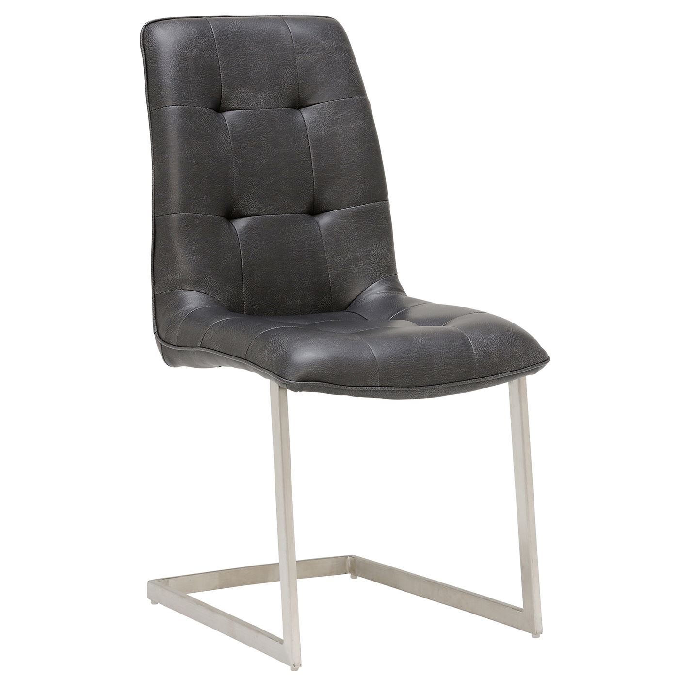 Ericka Upholstered Dining Chair, Grey
