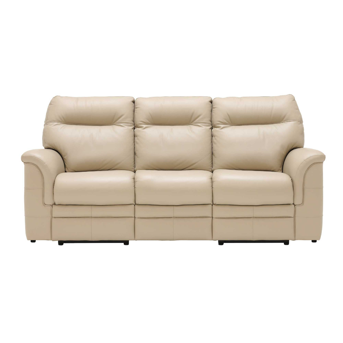 Parker Knoll Hudson 3 Seater Recliner Sofa, Leather