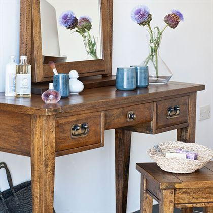New Frontier Mango Wood Dressing Table