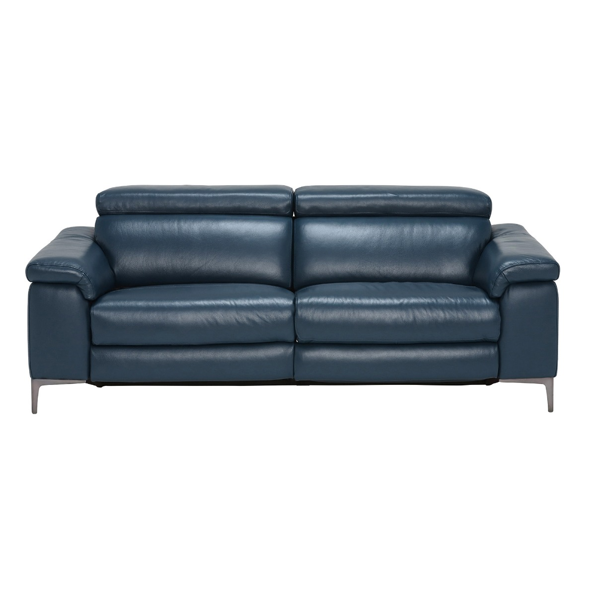 Paolo Leather 2 Seater Recliner Sofa