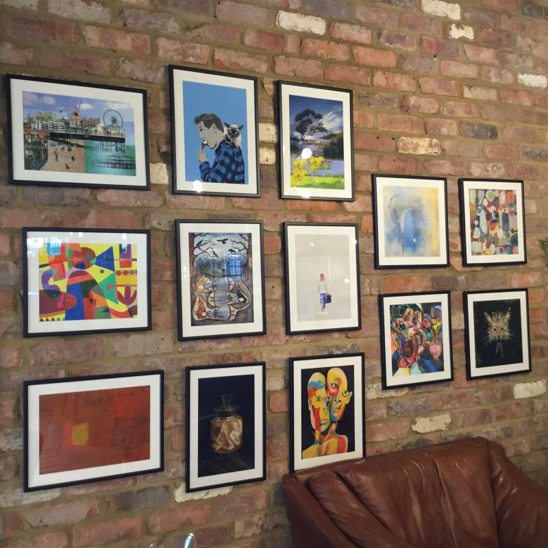 Artists Open Houses now on at our Hove Store