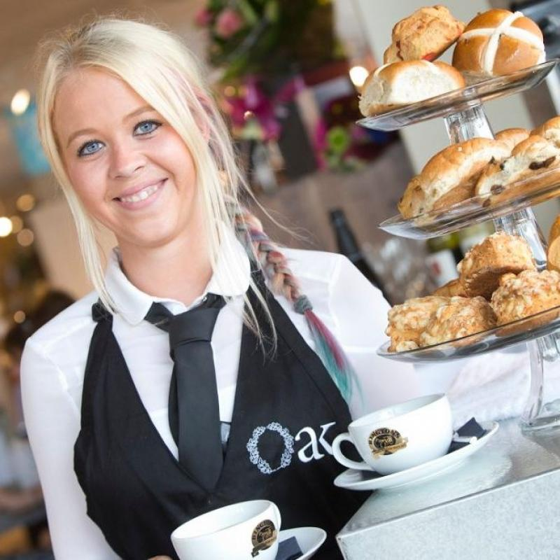 Barker and Stonehouse Launches Café in Newcastle Store with Oak Restaurant