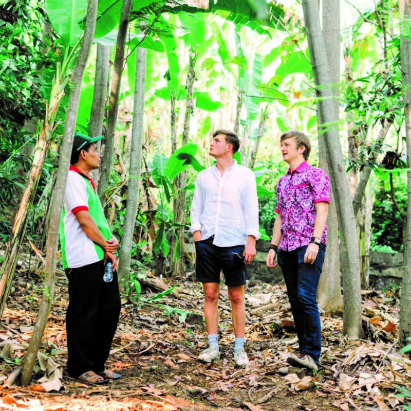 Trees 4 Trees: George Barker Visits the Reforestation Project