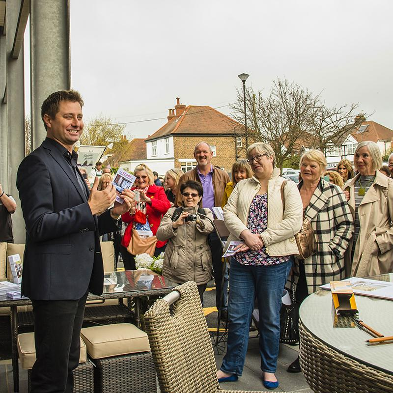 George Clarke Opens our New Hove Store!