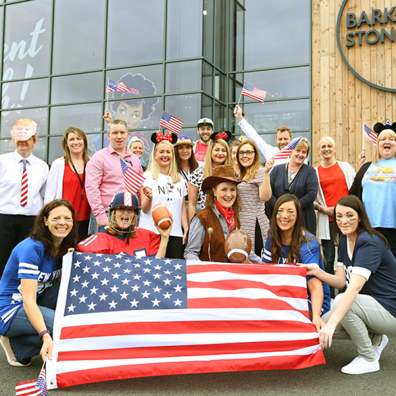 American-themed fundraiser for brave 4-year-old Finley