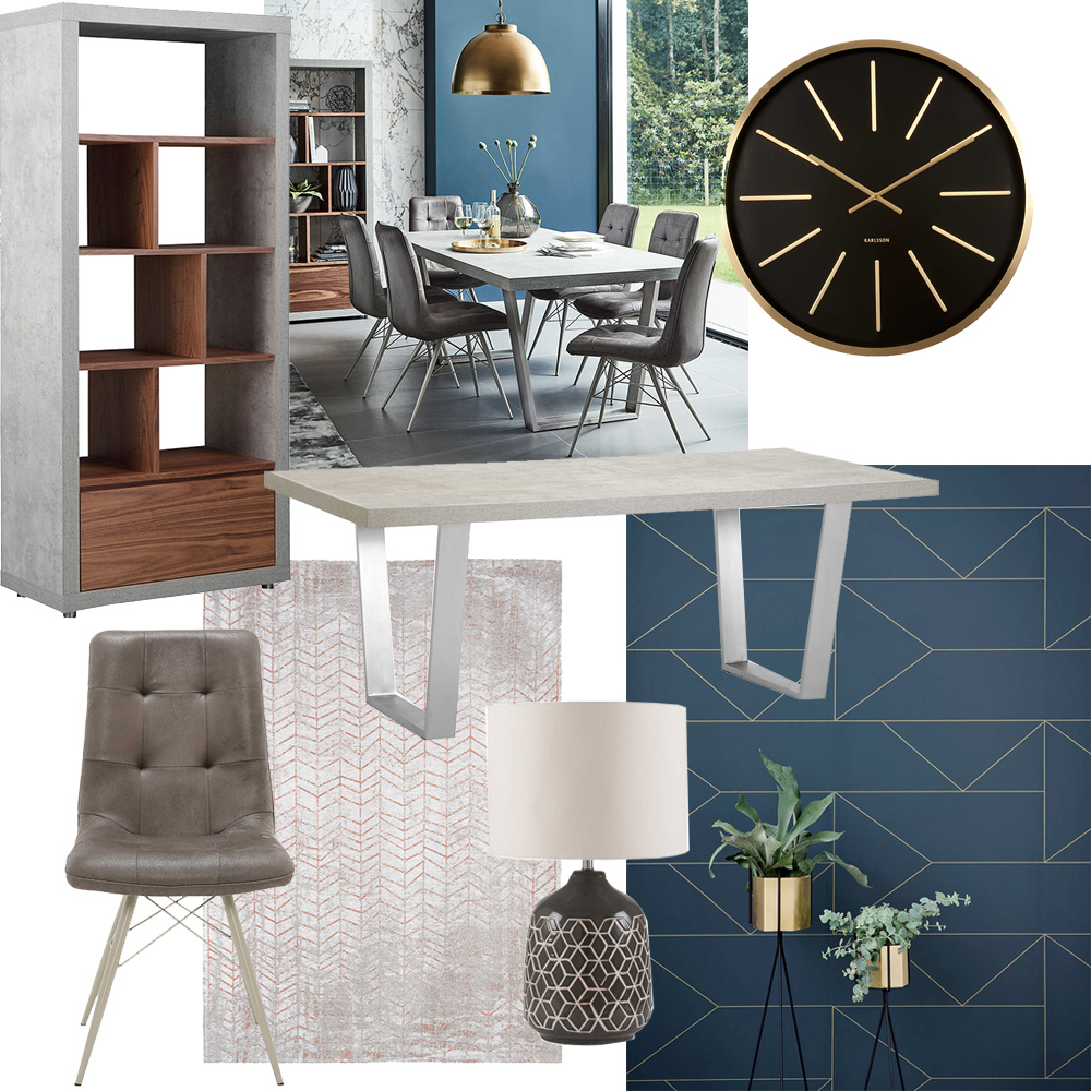 How to style the Halmstad dining table - contemporary
