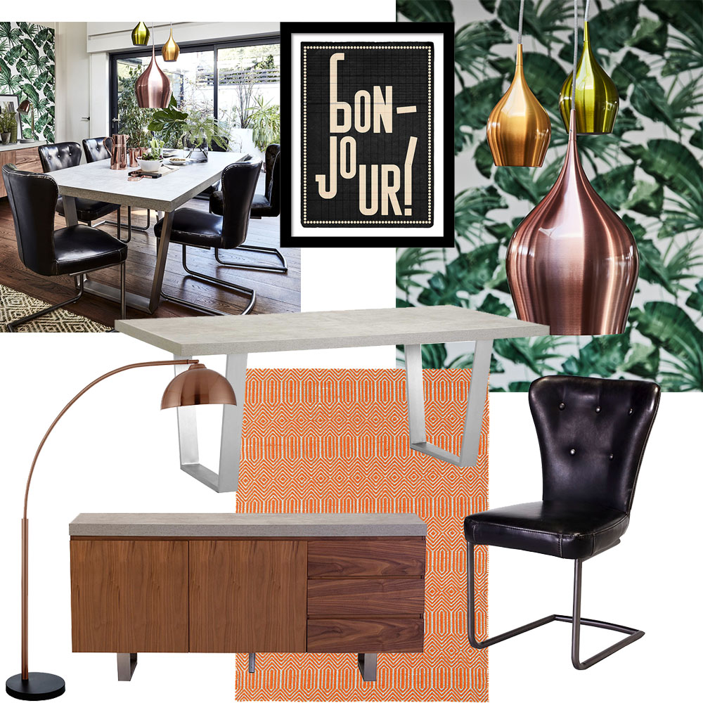 How to style the Halmstad dining table - retro