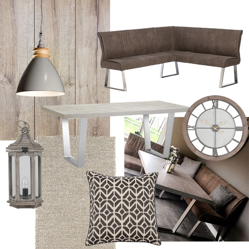 How to style the Halmstad dining table - rustic