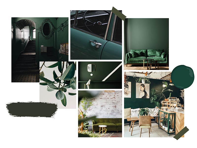 Colour of the Month Inspiration - Green